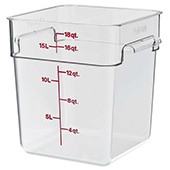 Food storage 17,2l., color-clear. Dimension: 25,6x31x32 cm