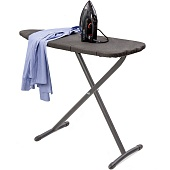 Ironing centre Swirl+, dimensions: folded: 37 x 7,5 x 117 cm (w x d x h), ironing surface: 112 x 37 cm (w x d)