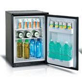 Minibar/mini-refrigerator with compressor VITRIFRIGO C330 P NEXT DM 33l., black, 390*445*540 mm.