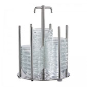 Bowl rack, chrome nickel steel