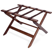 Luggage rack, foldable, wood, walnut, 670 * 460 * 420 mm.