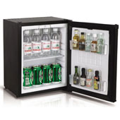 Minibar/mini-refrigerator with absorption system VITRIFRIGO HC25  25l., black, 350*385*463 mm.