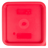 Food storge lid 5.7/7.6l., red, polyethylen