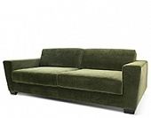 Sofa, hard wood frame, upholstery as agreed, 2020*1100*800 mm.