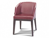Arm chair, hard wood frame, upholstery as agreed, 550*580*810 mm.