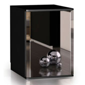 Minibar/mini-refrigerator with compressor VITRIFRIGO C330 V NEXT DM 33l., mirror door, black, 390*445*540 mm.
