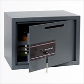 Safe deposit key locking mechanism, steel, 380*300*300 mm.