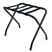 Luggage rack, foldable, metal, black, 670 * 420 * 500 mm.