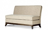 Sofa, hard wood frame, upholstery as agreed, 800*700*880 mm.