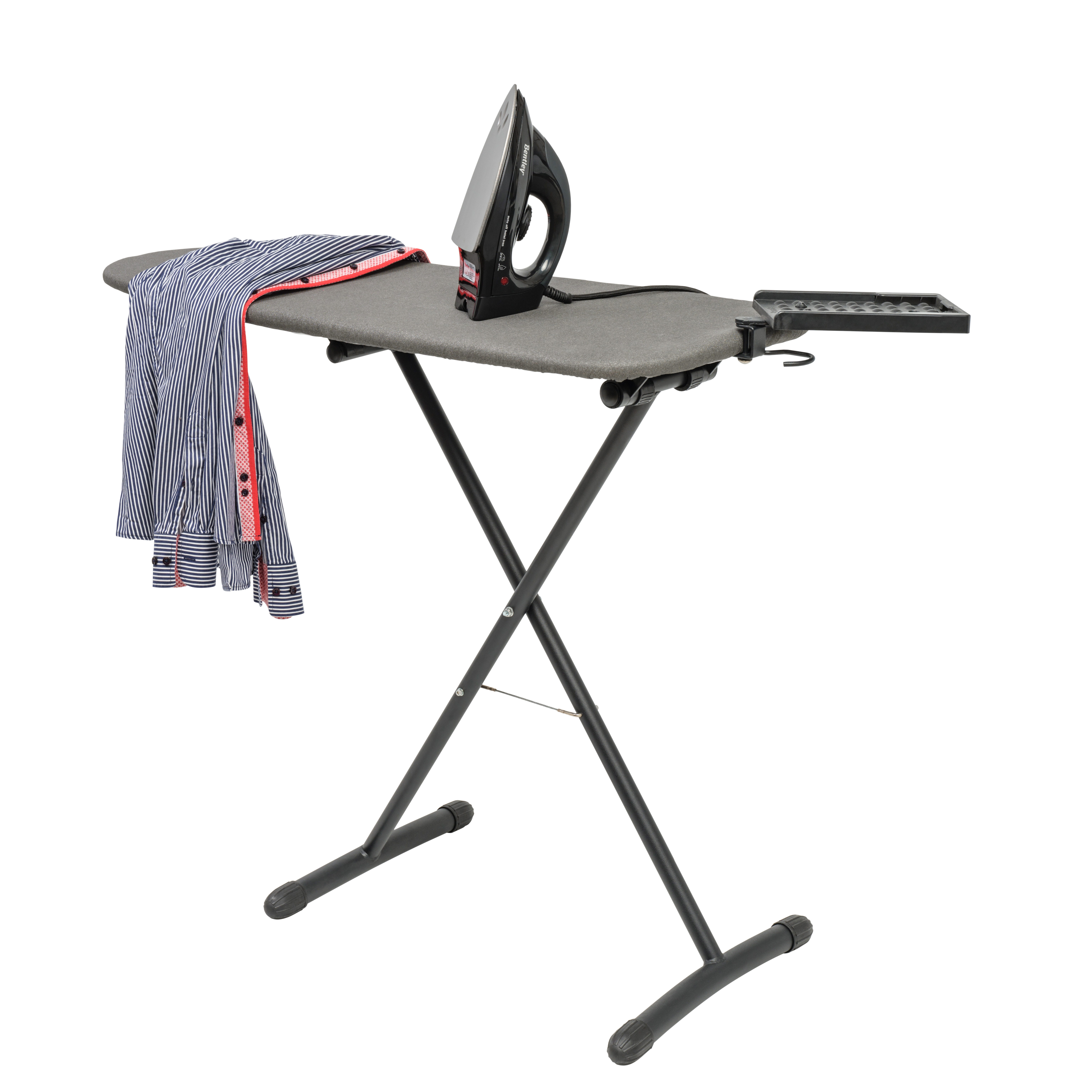 Ironing centre Ocean, dimensions: folded: 40 x 8,5 x 102 cm (w x d x h), ironing surface: 100 x 40 cm (w x d)