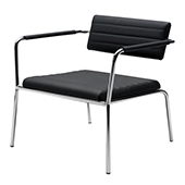 Стул Burgess Tiani 02/3,steel frame, fabric upholstery, steel, chrome, 730*670*705 mm