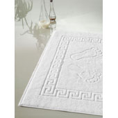 Bath mat 50*70*cm., Turkey, density 650 gr., cotton 100%, yarn 20/2, , white