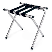 Luggage rack, foldable, metal, chrome, 480 * 410 * 460 mm.
