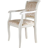 Arm chair, upholstery of seat and back rest from fabric of 0 category, hard beech, 435*410*910 mm.
