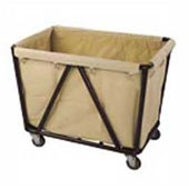 Housekeeping trolley, steel tubing structure, extra stands, bag, steel, polymer cover, 550*900*950 mm.