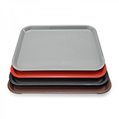 Tray, polypropylene, black, 353*275 mm.