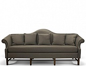 Sofa, hard wood frame, upholstery as agreed, 1630*860*1040 mm.