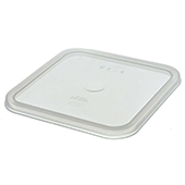 Snap-tight lid for food storage CamSquare, polycarbonat. color-clear.  Fit conteiners: 5,7 and 7,6l.