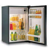 Minibar/mini-refrigerator with compressor VITRIFRIGO C50i 50l., black, 400*405*634 mm.