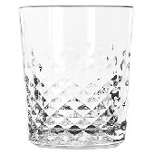 Glass Old Fashion Carats 350 ml., glass, transponent