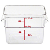 Food storage 11,4l., color-clear. Dimension: 25,6x31x21 cm