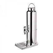 Cold milk dispenser, steel, chrome, 300*180*470 mm.