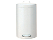 Croft 3L pedal bin, white (6 pcs./box)