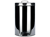 7L chrome pedal bins (6 pcs./box)