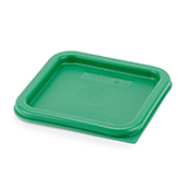Food storge lid 1.9/3.8l., green, red, polyethylen