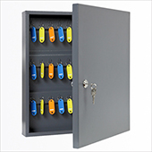 Keybox, key locking mechanism, steel, 350*400*75 mm.