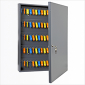 Keybox, key locking mechanism, steel, 450*600*90 mm.
