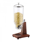 Cereal dispenser, 1 container, 7l, wooden/polycarbonate, 280*265*680 mm.