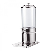 Beverage dispenser, stainless steel, 220*360*550 mm.