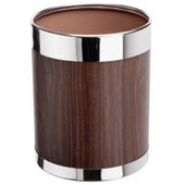 "Badroom bin 10 l. in-floor, with a removable ring, metal, ""under the tree"", 220 * 220 * 280 mm."