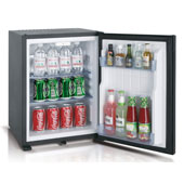 Minibar/mini-refrigerator with absorption system VITRIFRIGO HC30  30l., black, 402*420*500 mm.