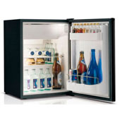 Minibar/mini-refrigerator with compressor VITRIFRIGO C39i 39l., black, 390*415*544 mm.