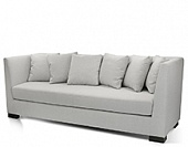 Sofa, hard wood frame, upholstery as agreed, 1600*800*820 mm.