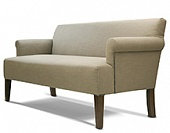 Sofa, hard wood frame, upholstery as agreed, 1700*820*860 mm.