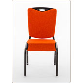 Chair Burgess Inicio 09/5H, aluminum frame, fabric upholstery V-seat and thin backrest, aluminum, 450*590*890 mm