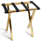 Luggage rack, foldable, metal, gold, 620 * 400 * 530 mm.