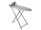 Corby Berkshire Compact ironing centre 11778, board with lid, iron, steel, Grey, 340*895*755  mm.