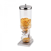 Cereal dispenser, 1 container, 4,5l, steel/polycarbonate, 175*220*520 mm.